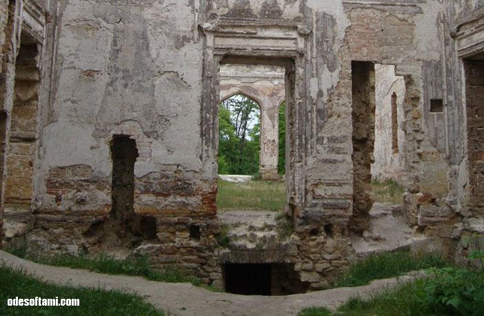 Отделка внутри - замок в с. Петровка, Одесской области