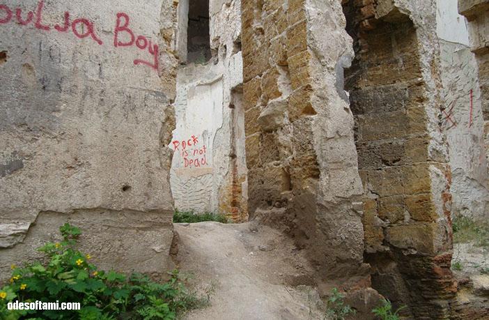 Внутренние стены - замок в с. Петровка, Одесской области