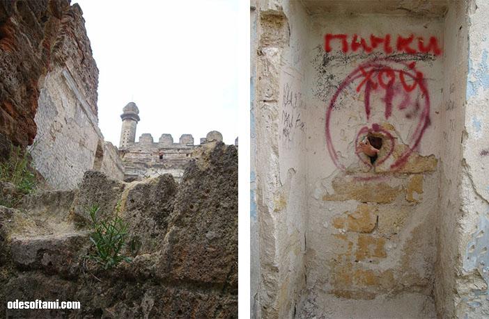 Сказочный замок в с. Петровка, Одесской области