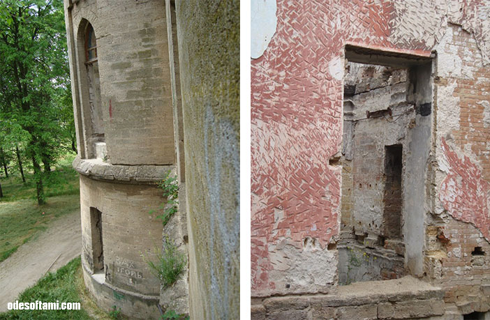 Разруха - замок в с. Петровка, Одесской области