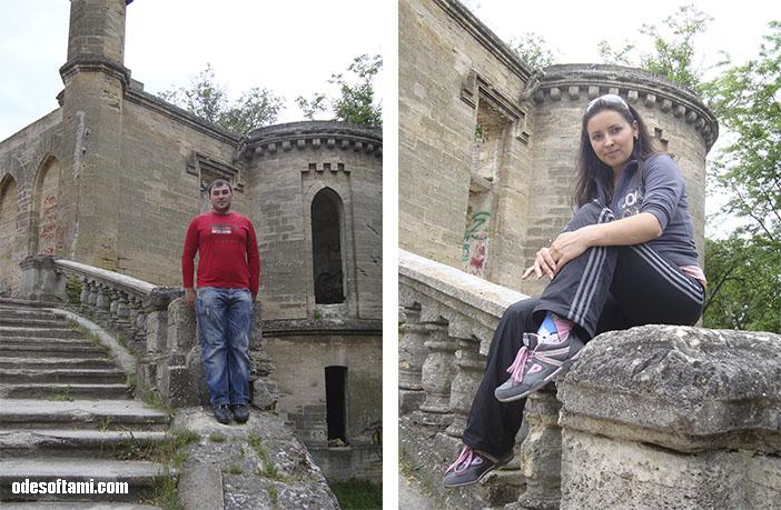 Напоследок - замок в с. Петровка, Одесской области