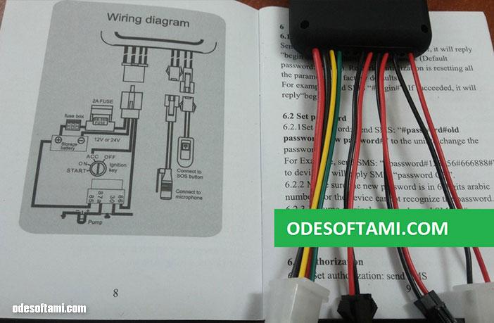 Схема подключения GPS трекера GT06 AccuraTE. Инструкция на русском языке и обзор - odesoftami.com