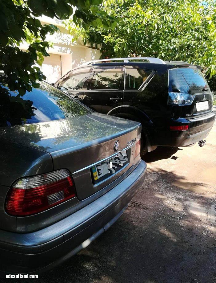 BMW ноздри в черный мат