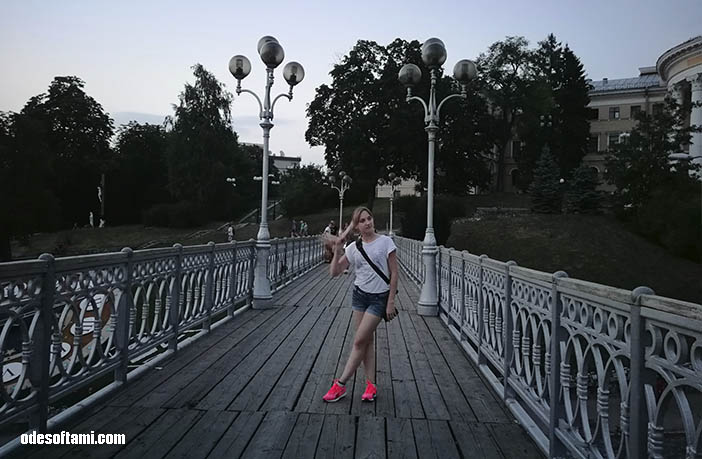Инна Доша и Денис Алексеенко. Вечерний Киев