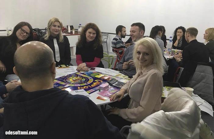 Cashflow Одесса, Кеш фло, игра Денежный Поток Одесса, Красная строка - odesoftami.com