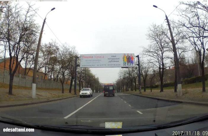 въезд в город Николаеве