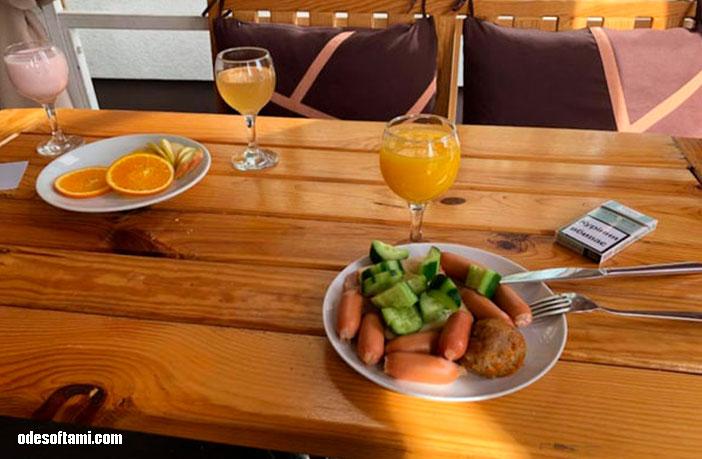 Завтрак в   отеле Ramada, Львов - odesoftami.com