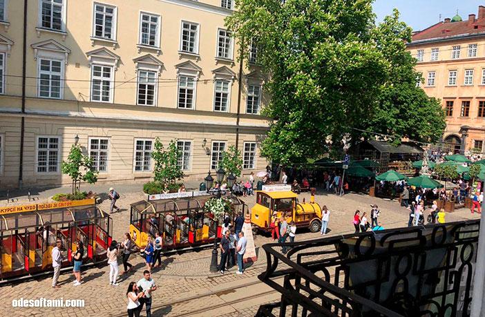 Вид на город из Масонской ложе, Львов - odesoftami.com
