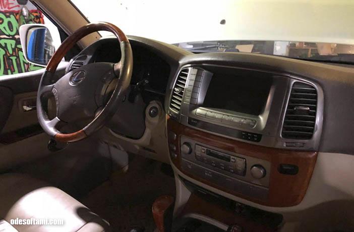 Старое прикольное ведерко Lexus LX470