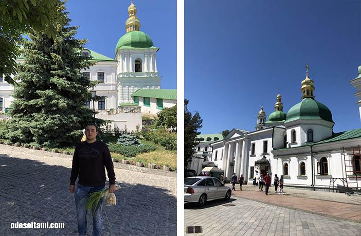 На Троицу в Свято-Успенскую Киево-Печерскую Лавру