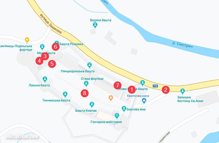 Лучшие точки места для фотосессий Каменец-Подольская крепость - odesoftami.com