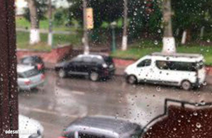 Дождливое утро в Почаеве , Лавра летом - odesoftami.com