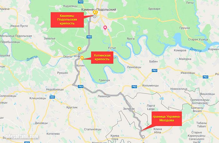 Путешествие в Каменец-Подольский через Молдову - odesoftami.com