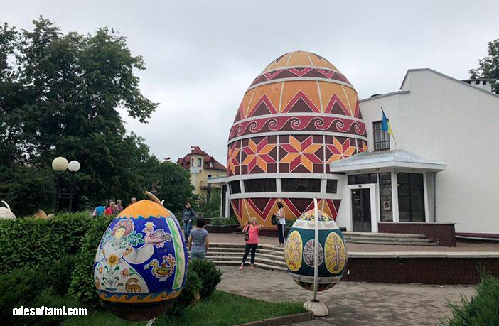 Утро в Коломыя, отель Пысанка - odesoftami.com