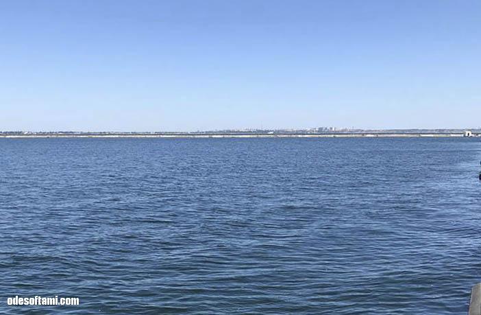 Черное море. Морской вокзал Одесса