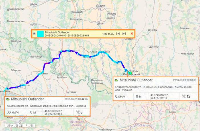 Украина, по пути в Коломию - odesoftami.com