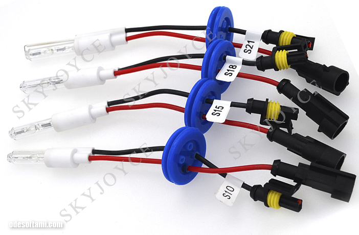 Безцокольные лампы S21 S18 S15 S10 для биксеноновой линзы
