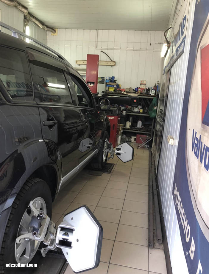 Сход-развал Mitsubishi Outlander XL
