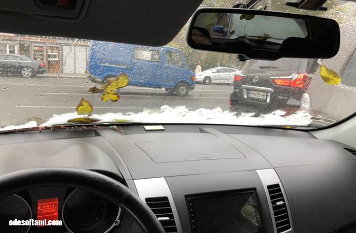Одесса. Первый снег 14112018