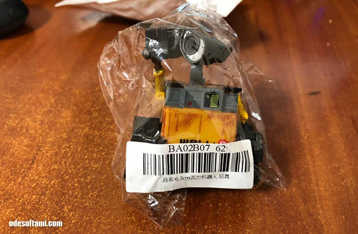 Робот ВАЛЛ-И из Китая - odesoftami.com