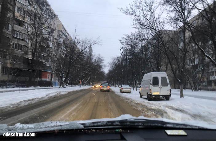 Cнег на Рождество в Одессе 2019 - odesoftami.com