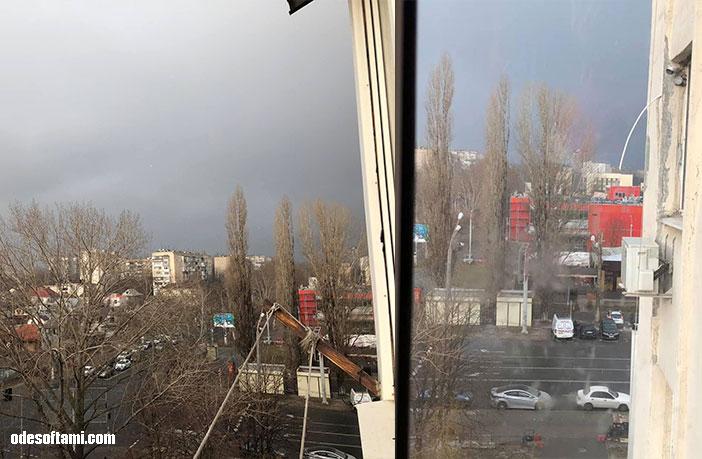 Снег под Рождество в Одессе - odesoftami.com