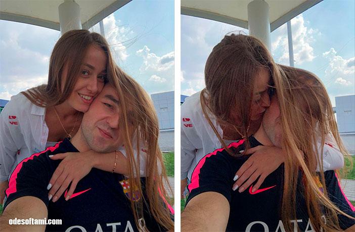 Анастасия Сандул и Денис Алексеенко  в Софиевский парк, Умань, Черкасская область - odesoftami.com