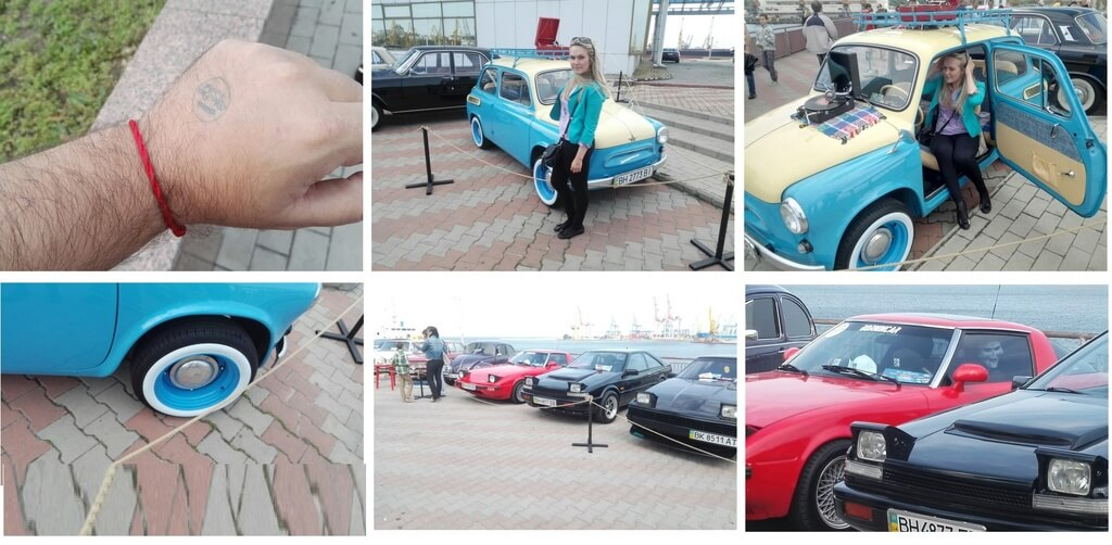 Bike★Cars + RocknRoll Автовыставка на морвокзале г.Одесса