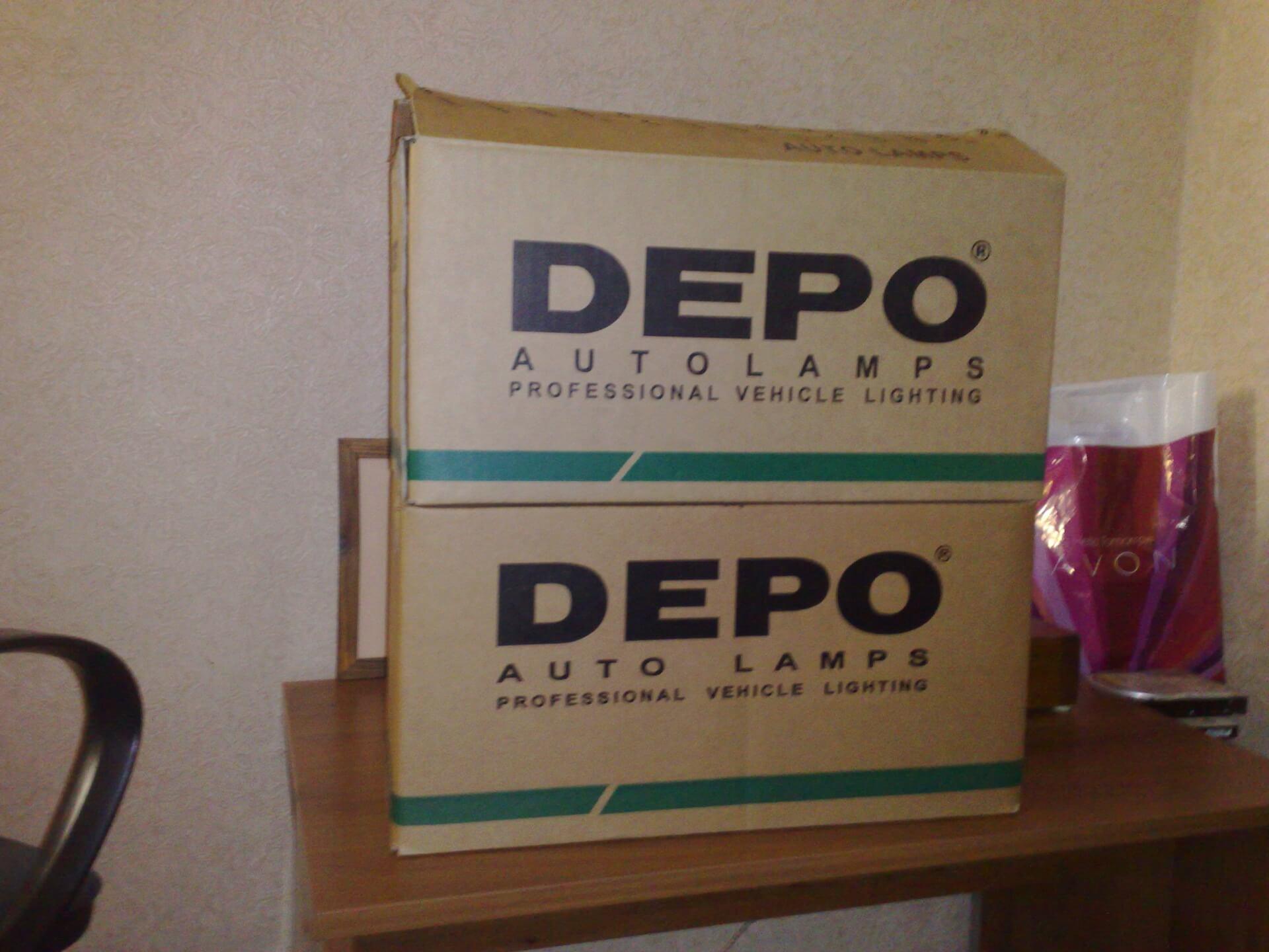 Новые фарки Depo