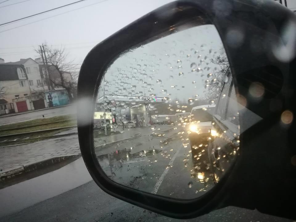 Дождь и туман... Одесса +6