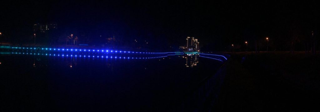 Прогулка в парке Победы...