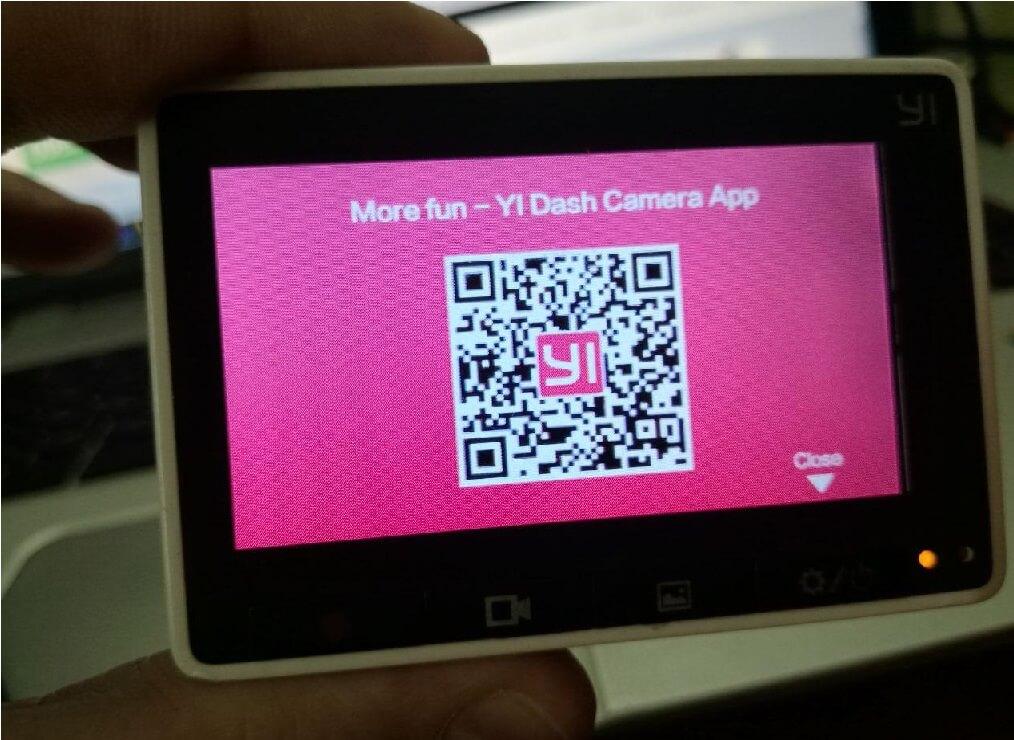 Обновление YI Dash Cam  с китайского на английский