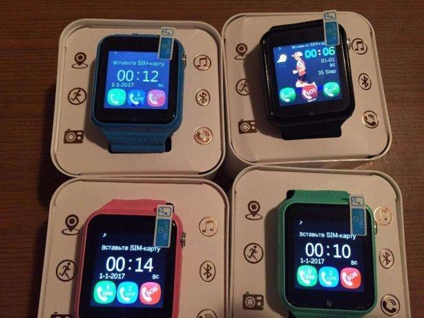 Детские умные часы с GPS трекером V7K