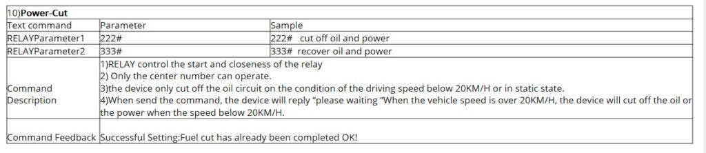 Настройка DYEGOO GPS Tracker GT-06