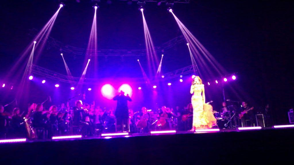Побывали на концерте Notre Dam de pari