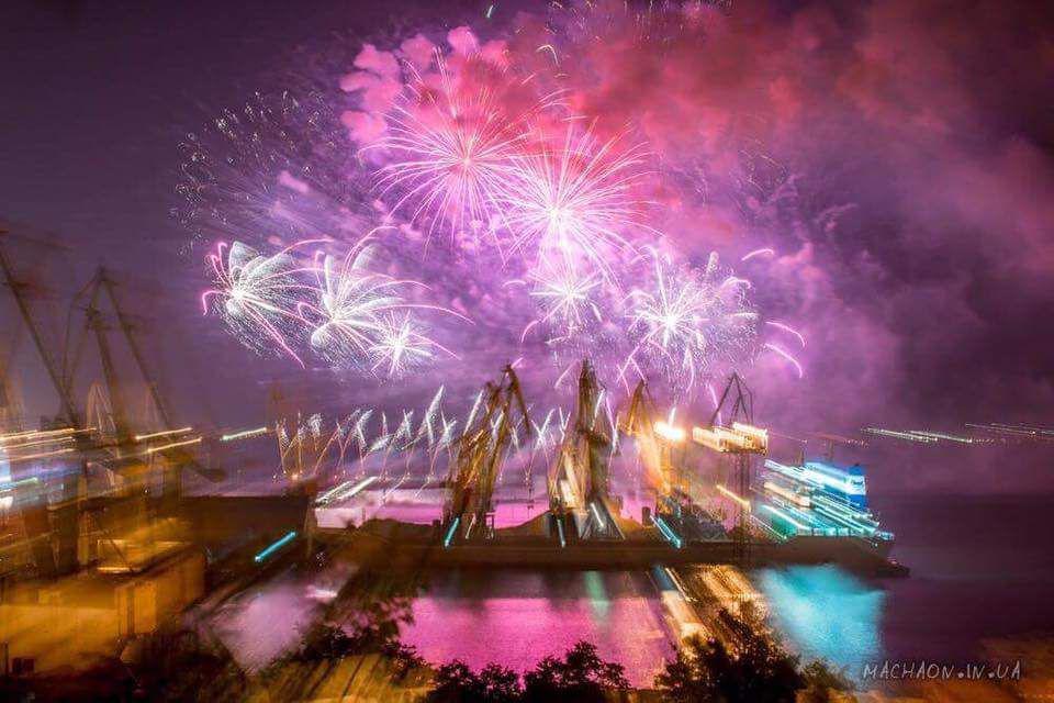 В Одессе впервые состоится фестиваль фейерверков...