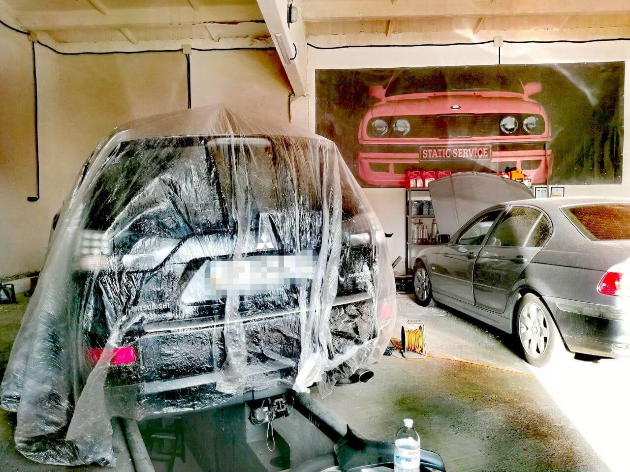 Этап номер три. Антикоррозийная обработка автомобиля... BODY 930