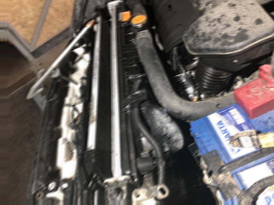 Чистка радиаторов…  кондиционера Mitsubishi Outlander