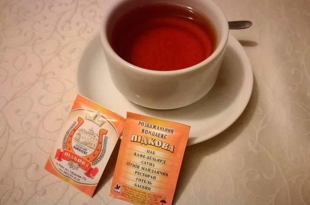 чай в ресторане подкова
