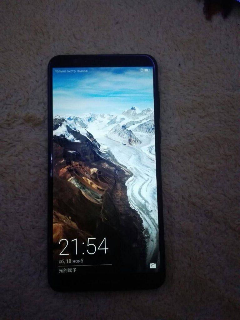 Посылка из Китая. Huawei Honor 7x. Обзор и распаковка.