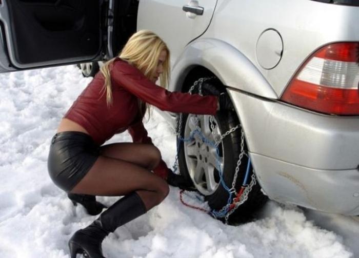 Как завести машину в лютый мороз