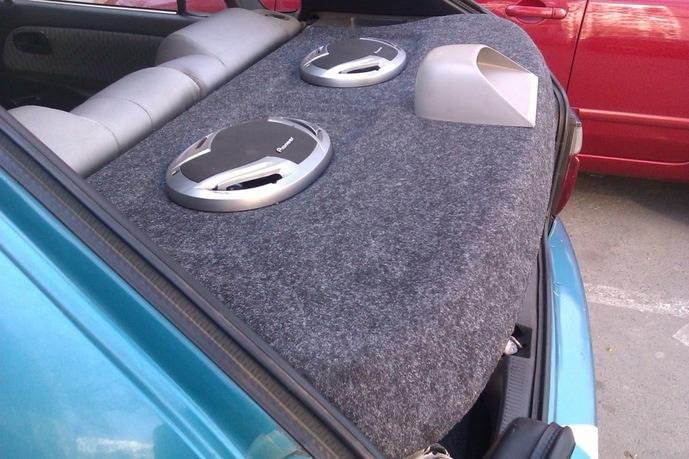 Реконструкция задней полки Toyota Corolla версия 2.0 — Фото на машине!
