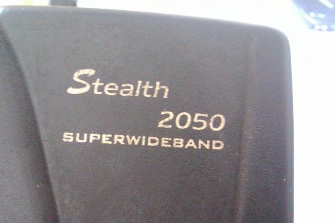 Нашел в закромах антирадар STEALTH 2050 superwideband, живой…