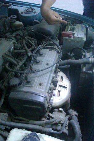 Фотоотчет. Настройка зажигания Toyota Corolla AE100 EE101…