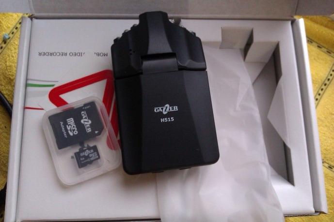 Раскладушка Gazer H515 обзор видеорегистратора.