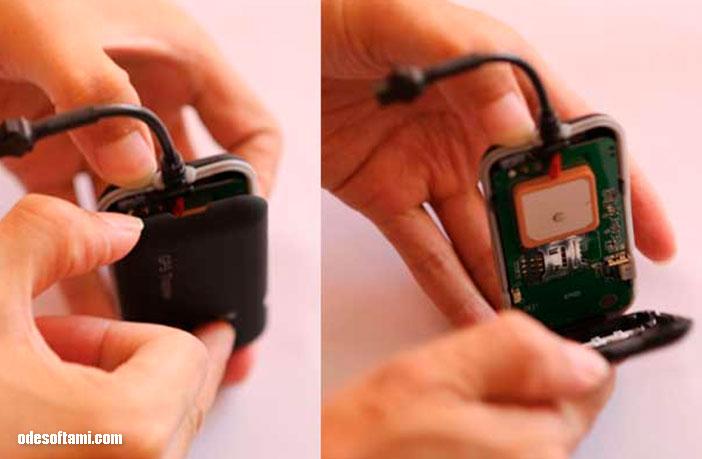 Настройка GPS трекера GT02A