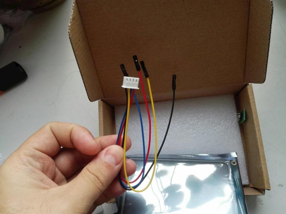Посылка из Китая. Чудо сенсорный монитор Nextion 4.3 HMI TFT для тюнинга приборки :-)
