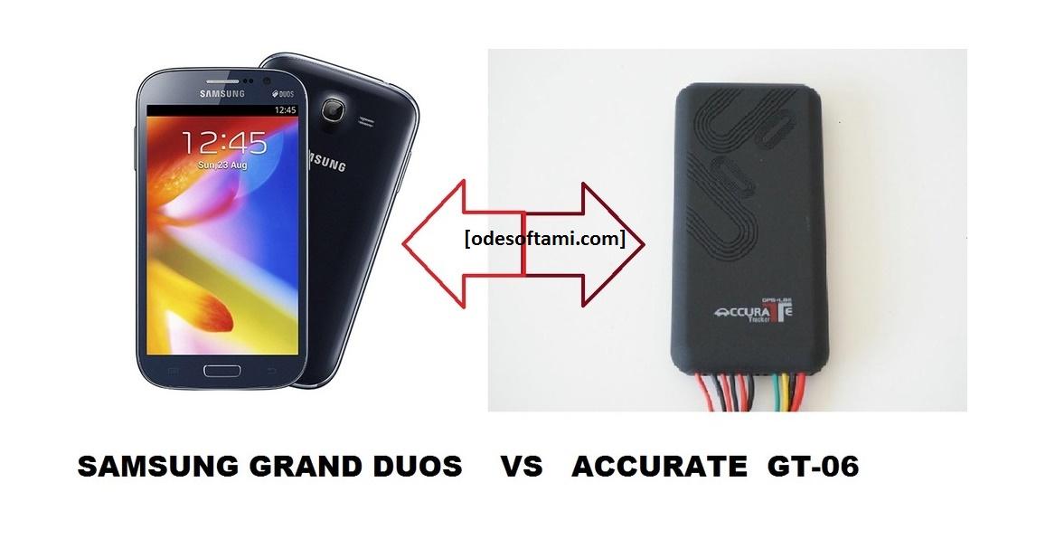 Сравнить точности координат Accurate GT06 и Samsung