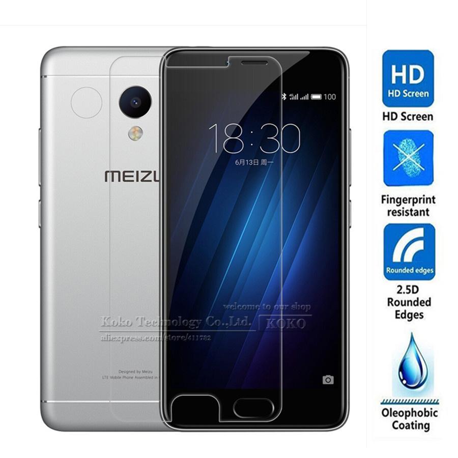 Закаленное стекло для Meizu M3S c диагональю 5.0