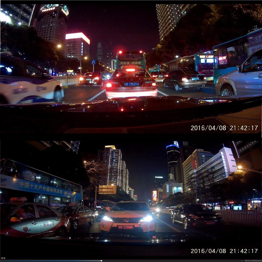 Посылка из Китая. Обзор видео регистратора K1S для скрытой установки на 2 камеры от Koonlung